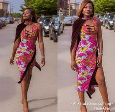 Ankara Styles gives an incredible outlook and bring the best fashion in you.In Africa and whole wide world Ankara has been widely Accepted because of its Short Ankara Dresses, Latest Ankara Gown, Ankara Long Gown Styles, Trendy Ankara Styles, African Print Dresses, African Wear, African Dress, African Fashion, Ankara Tops