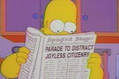 The 16 funniest newspaper headlines from The Simpsons - Mirror Online
