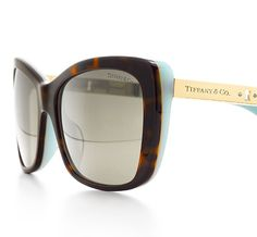 Tiffany & Co.   Item   Tiffany Locks butterfly sunglasses in tortoise and Tiffany Blue® acetate.   United States
