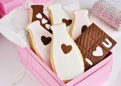 Neapolitan Milk & Chocolate Sugar Cookies