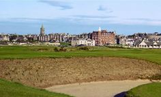 The Old Course at St. Andrews Links.  One of our many dream golf courses.