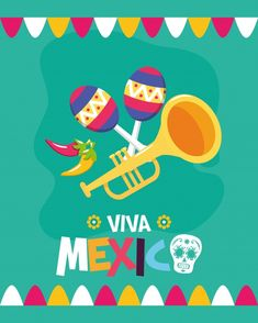 Independence Day, Vector Free, Stock Photos, Movie Posters, Art, Viva Mexico, Art Background, Diwali, Film Poster