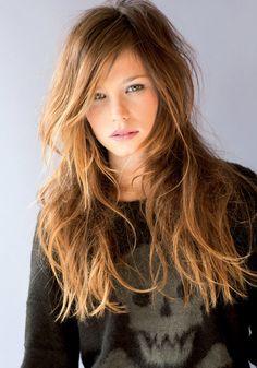 colore di capelli castano chiaro: Hair, Photo and Styling: Manuel Macavi