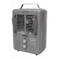 Utilitech 5,118-BTU Fan Forced Cabinet Electric Space Heater with Thermostat