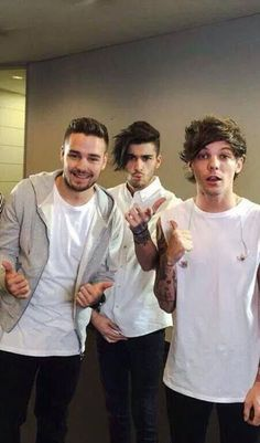 Liam,Zayn and Louis Tokyo Backstage