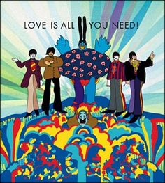 Love Is All You Need pop artwork