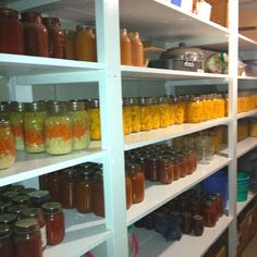 Amish canning ~ Sarah's Country Kitchen ~