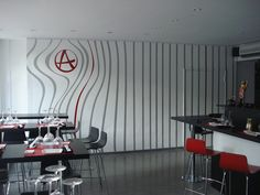Wall graphic - American Sushi