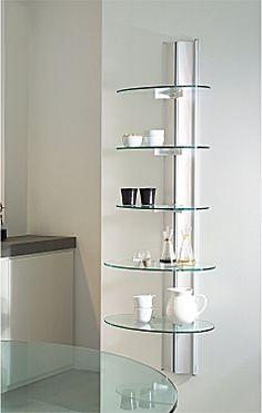 Resultado de imagen para repisas en vidrio para ba o for Estantes vidrio bano