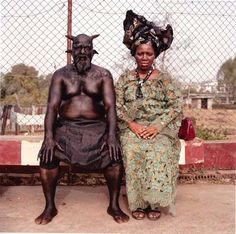 Chris Nkulo et Patience Umeh, Enugu. De la série Nollywood, 2008-2009 © Pieter Hugo, Courtesy Stevenson Gallery Cape Town/Yossi Milo, New York/ e x t r a s p a z i o, Rome