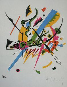 Vassily Kandinsky, 1922 - Kleine Welten I - Wassily Kandinsky - Wikipedia, the free encyclopedia