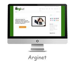 Arginet, diseño web, marketing online y formación... nuestra página web