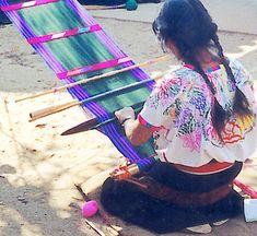 Guatemalan backstrap loom
