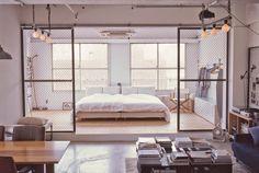 Industrial design loft in Tokyo