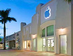 Apple Store, Lincoln Road  Miami Beach, FL USA