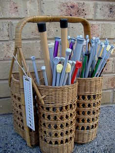 Knitting Needle storage