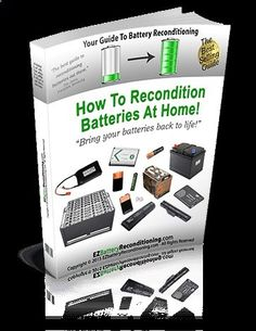 Battery Reconditioning - Membership Home — EZ Battery Reconditioning Members Area - Save Money And NEVER Buy A New Battery Again