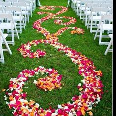 A different option for an aisle runner