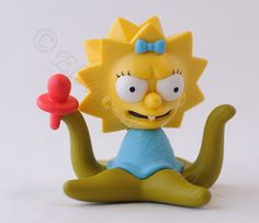 "Tree House of Horror Maggie Simpson  3"" Vinyl Figure New Opened to Identify #kidrobot #simpsons #treehouseofhorror #maggie"