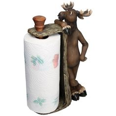 Shop for River's Edge Products Moose Paper Towel Holder. Free Shipping on orders over $45 at Overstock.com - Your Online Kitchen