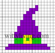 Google Image Result for http://www.wittyliving.com/images/stories/crossstitch/witchhat-free-cross-stitch-pattern.jpg