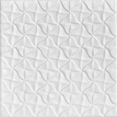 """Granny's Pinwheel Quilt - Styrofoam Ceiling Tile - 20""""x20"""" - #R55"""