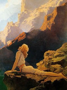 Wild Geese, by Maxfield Parrish, 1923