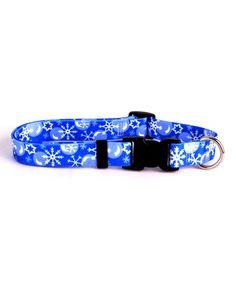 Another great find on #zulily! Winter Wonderland Dog Collar #zulilyfinds