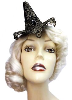 Golden Jewel Witch Mini Steampunk Halloween by JenkittysCloset