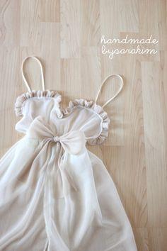 Handmade by Sara Kim #intimates #wedding #bridallingerie #lingerie