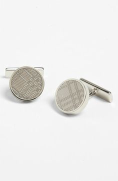 Burberry Cuff Links Suit Accessories, Fashion Accessories, Designer Cufflinks, Man Dressing Style, Just For Men, Business Fashion, Burberry, Nordstrom, Mens Fashion