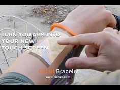 Make Your Skin Your New Tablet With The Cicret Bracelet | Futuristic NEWS