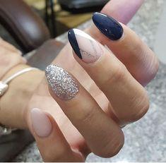 Almond nails #thenailboss