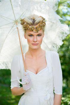 Brautdirndl Silk & Pearls - Dirndl Hochzeit in Bayern