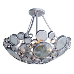 Varaluz 165S03 Fascination 20-in Semi Flush Ceiling Light