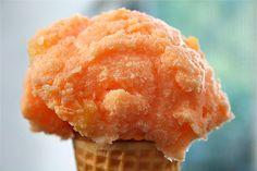 Orange Crush Sherbert