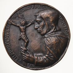 Electrotype Medal Replica - Girolamo Savonarola - Museum Victoria