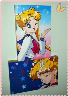 Tsukino Usagi/ Sailor Moon Hand painted 20x30cm ♥ #sailormoon #TsukinoUsagi Sailor Moon, Fanart, Hand Painted, Anime, Painting, Painting Art, Sailor Moons, Fan Art, Cartoon Movies