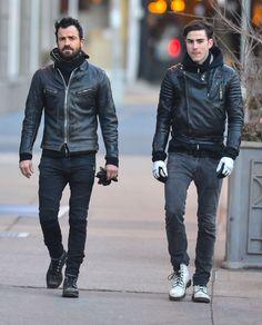 Justin Theroux Has A Hot Brother Named Sebastian