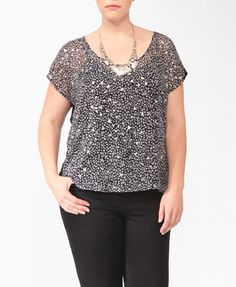 Triangle Front Top   FOREVER21 PLUS - $19.80