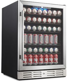 Kalamera Beverage Refrigerator 175 Can Built-in or Freestanding Single Zone Touch Control My New Room, My Room, Room Ideas Bedroom, Bedroom Decor, Beverage Center, Game Room Design, Cute Room Decor, Tallit, Aesthetic Room Decor