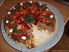 """""""Кабачковая радуга"""" - любимое блюдо из кабачков!"""