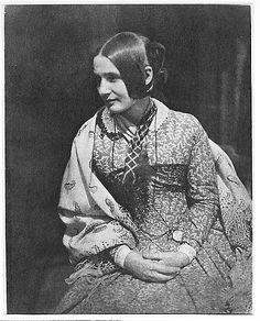 Lady in a Flowered Dress, 1843-7  David Octavius Hill  (Scottish, Perth 1802–1870 Edinburgh)  From the Met