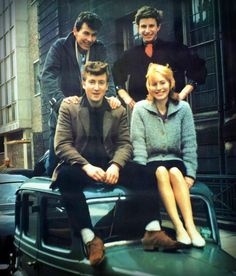 RIP Cynthia (Powell) Lennon - seen here in the 1950s with John Lennon and two…