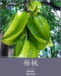 杨桃 - Yáng táo