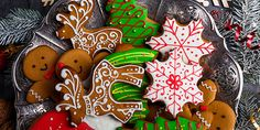 17 Christmas recipes to prepare in advance and not be in the kitchen all day - Oscar Wallin Egg Free Cookies, Holiday Cookies, Sugar Cookies, Iced Cookies, Holiday Cookie Recipes, Holiday Baking, Christmas Baking, Cookie Ideas, Christmas Goodies