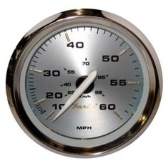 Faria Kronos 4 Speedometer - 60MPH (Mechanical)