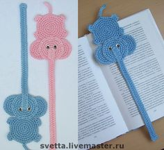 Knitted bookmarks for books from Svetlana Zabelina. Discussion on LiveInternet - Russian Online Diaries Service