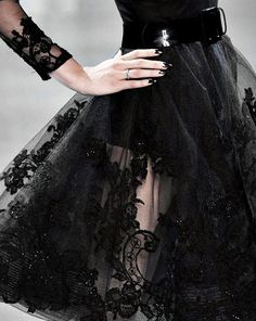 Beautiful Fashion Details...Christian Dior.
