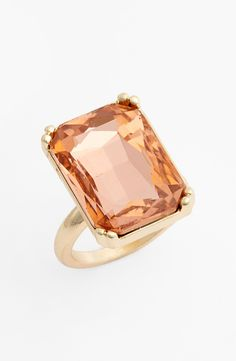 Will wear this oversized pink crystal ring everywhere!